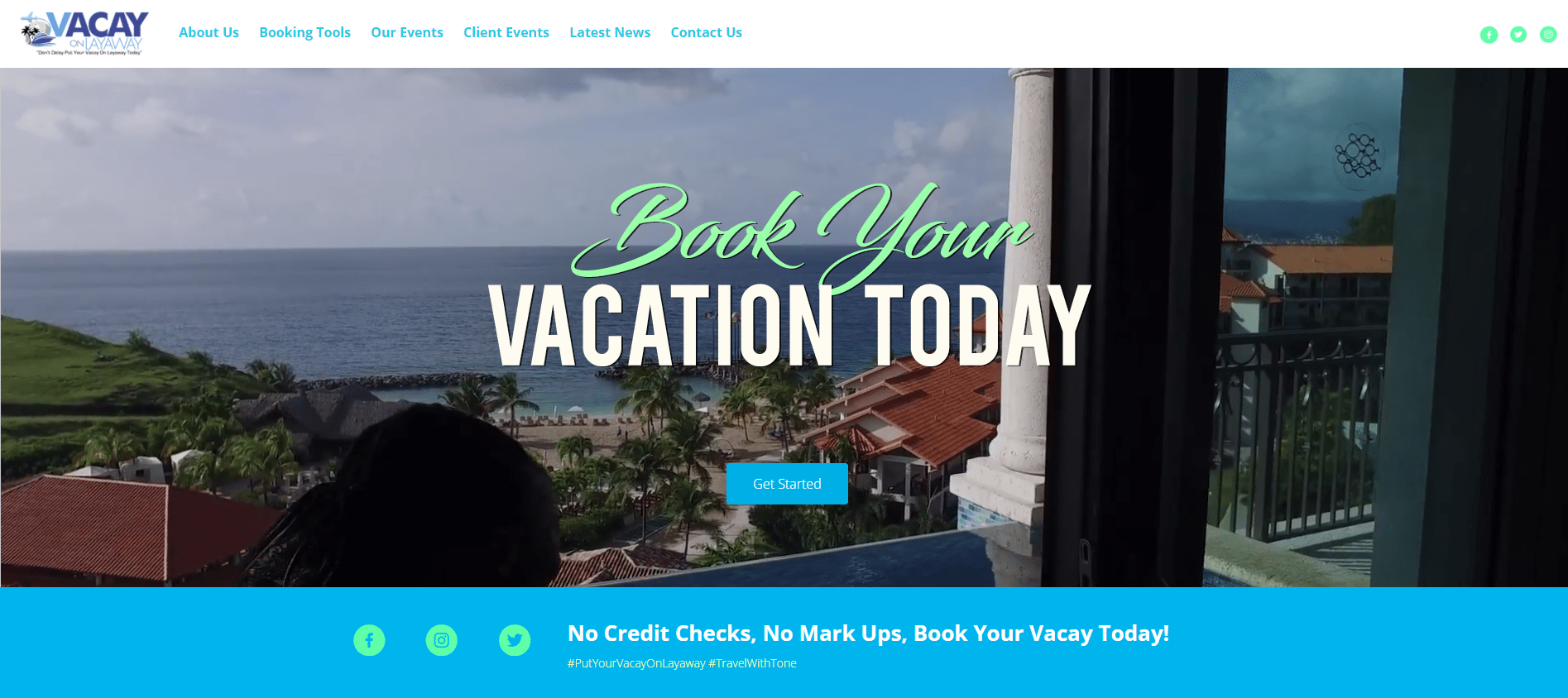 Vacay On Layaway Launches New Web Page!